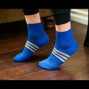 Men's Striped Ankle Socks
